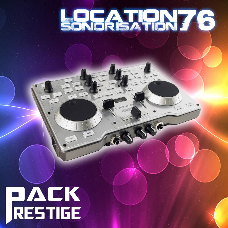 location sono pack prestige